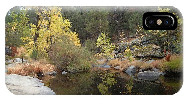 Sierra Nevada iPhone Case - Lake In The Forest by Naxart Studio