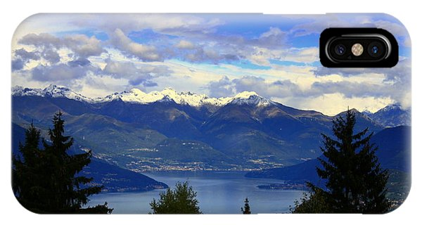 Lake Of Como View IPhone Case