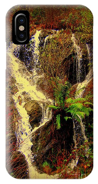 Lake Shasta Waterfall 3 IPhone Case