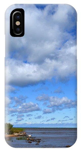 Lake Superior At Whitefish Bay IPhone Case