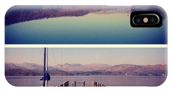 London2012 iPhone Case - Lake Windermere #manc #manchester by Conor Duffy