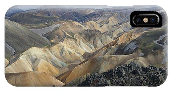 Landmannalaugar Panorama 1 IPhone Case