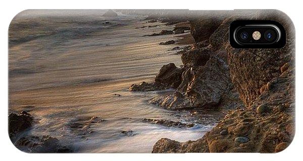 #landscape #landscapelovers #pescadero IPhone Case