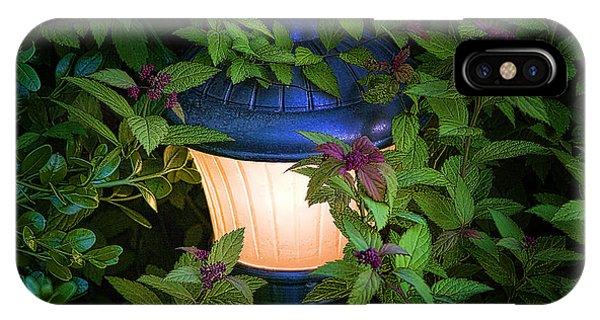 Greenery iPhone Case - Landscape Lighting by Tom Mc Nemar