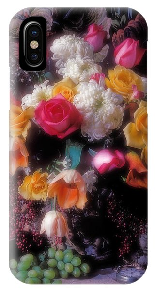 Large Bouquet Of Flowers IPhone Case