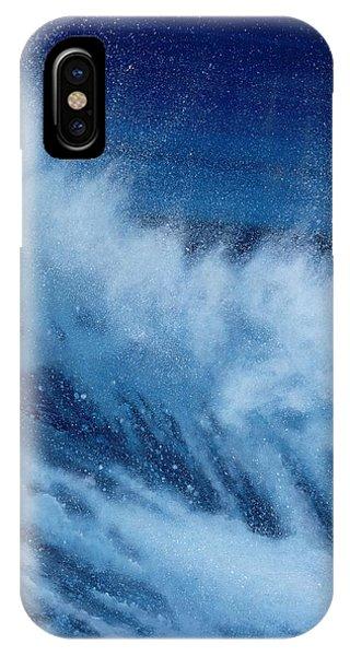 Tidal Waves iPhone Case - Large Waves Breaking by Alan Byrne