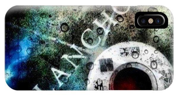 Movie iPhone Case - Lars Von Trier's melancholia A by Carrie Mroczkowski