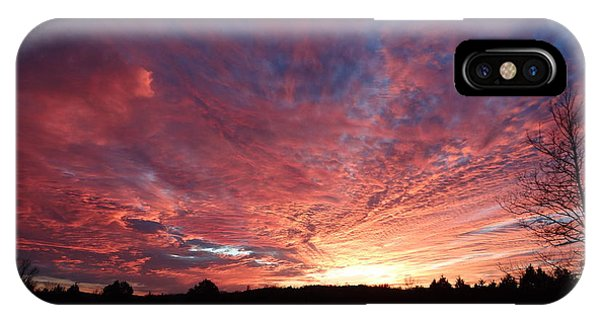 Lascassas Sunset Two IPhone Case