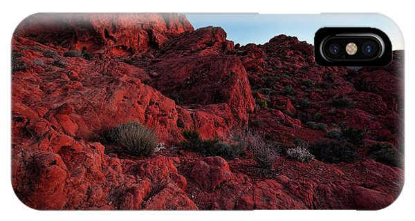 Valley Of Fire iPhone Case - Last Light In Valley Of Fire by Rick Berk