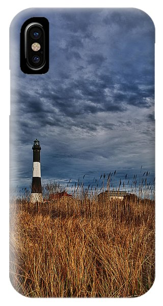 Navigation iPhone Case - Late Afternoon Drama by Rick Berk