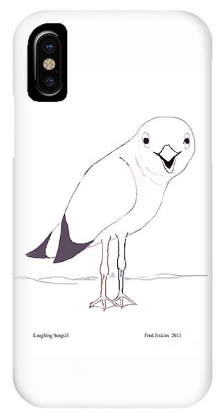 Laughing Seagull IPhone Case