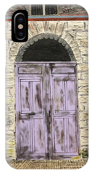 Lavender Door-france IPhone Case