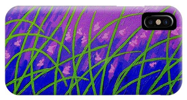 Violet iPhone Case - Lavender Hill by John  Nolan