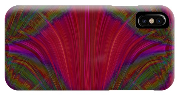 Violet Flame iPhone Case - Layers Of The Flame by Tim Allen