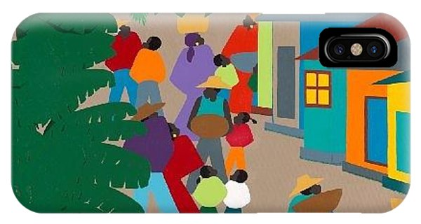 iPhone Case - Le Village by Synthia SAINT JAMES