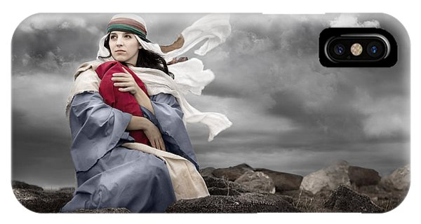 Leaving Bethlehem IPhone Case
