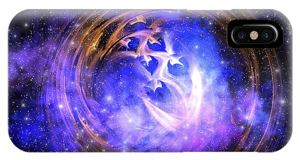 Light Speed iPhone Case - Leftover Remnants From A Supernova by Corey Ford