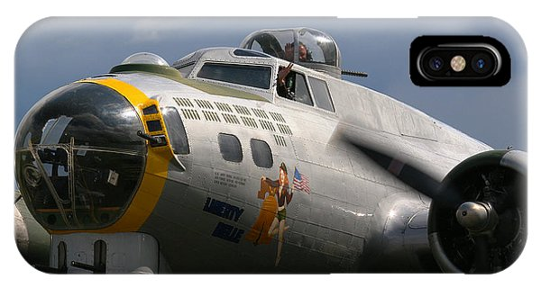 Liberty Belle B17 Bomber IPhone Case