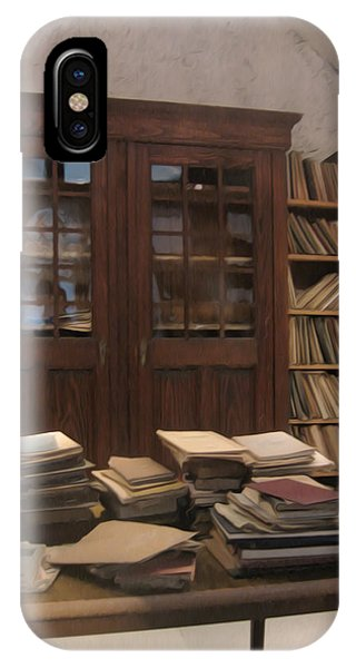 Library Sproockenhaus IPhone Case
