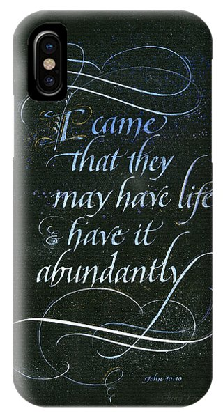 Life Abundant IPhone Case