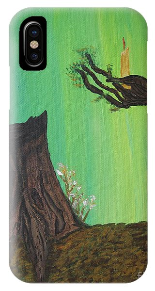 Light A Candle For Me IPhone Case