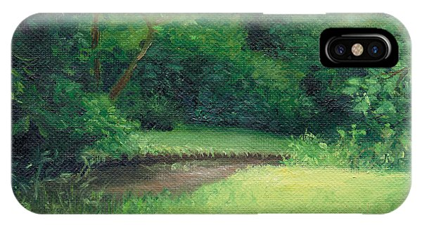IPhone Case featuring the painting Light In August by Joe Winkler