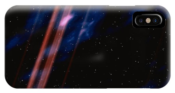 Beam iPhone Case - Light In Space by Stocktrek Images
