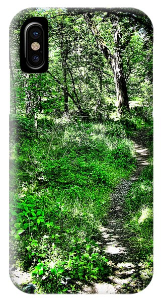 Lighted Path Phone Case by Colleen Kammerer