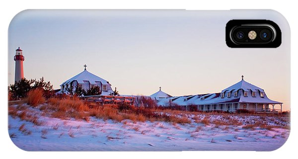 Lighthouse And St Mary's By The Sea IPhone Case
