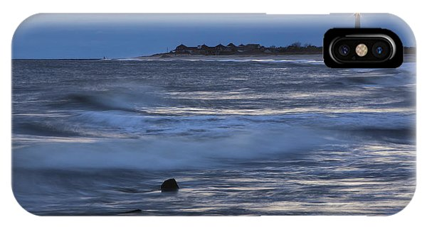 Lighthouse At Twilight IPhone Case