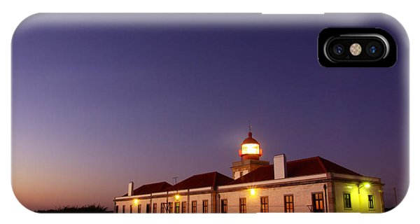 Navigation iPhone Case - Lighthouse by Carlos Caetano