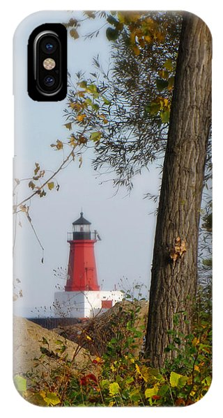 Lighthouse Mist IPhone Case
