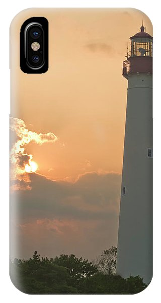 Lighthouse Sunset Phone Case by Tom Singleton