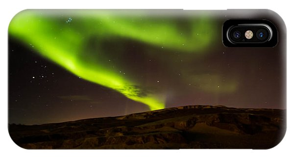 Lights Over The Desert IPhone Case