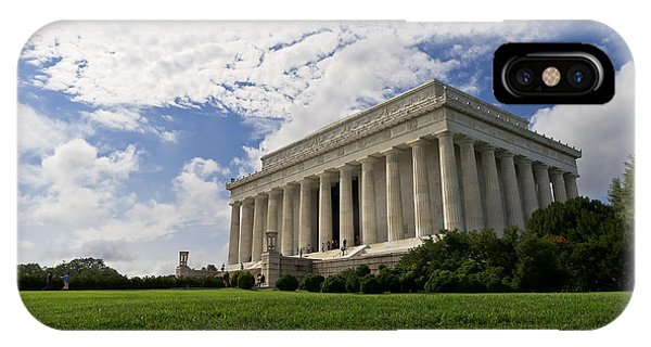 Lincoln Memorial And Sky IPhone Case