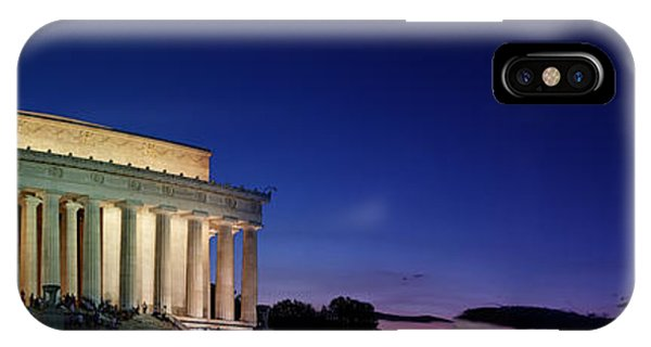 Lincoln Memorial At Sunset IPhone Case