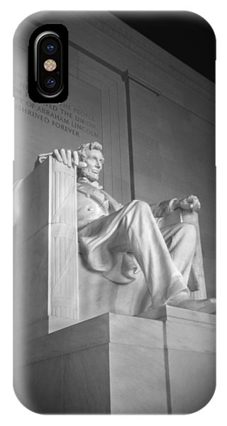 Lincoln Memorial iPhone Case - Lincoln Memorial  by Mike McGlothlen