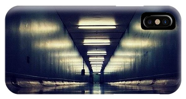 Science Fiction iPhone Case - Link Tunnel by Susannah Mchugh