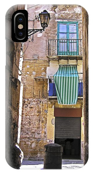 Little Street Of Palermo IPhone Case