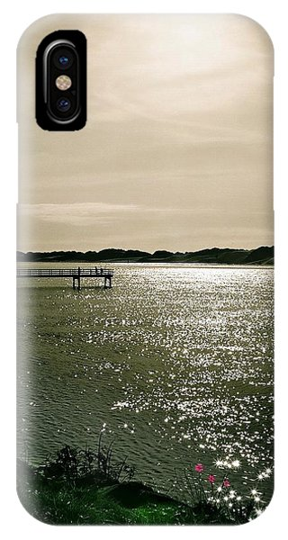 IPhone Case featuring the photograph Living On The Edge by Deahn      Benware