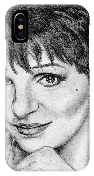 iPhone Case - Liza Minnelli In 2006 by J McCombie