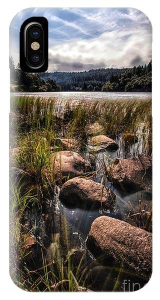 Loch Ard iPhone Case - Loch Ard From The Reed Beds by John Farnan