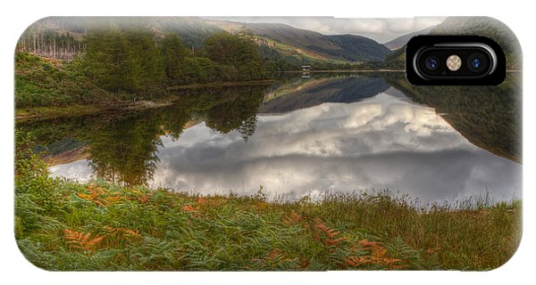 Loch Dughaill Scotland Uk IPhone Case