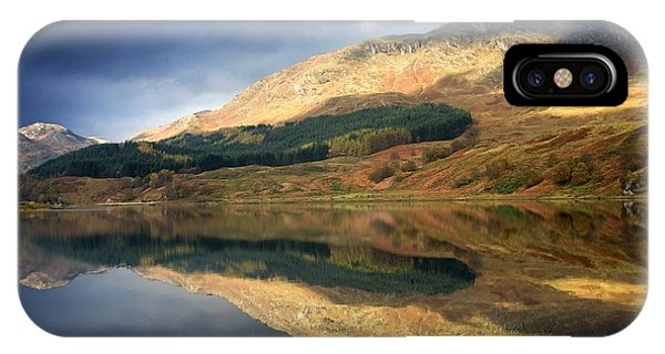 Loch Lobhair, Scotland IPhone Case