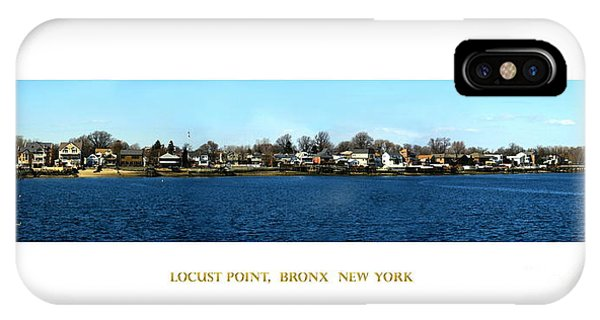 Locust Point Bronx New York IPhone Case
