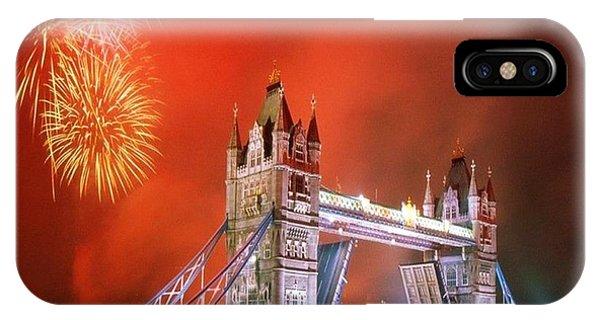 London Bridge 2012 Olympics Phone Case by Florene Welebny