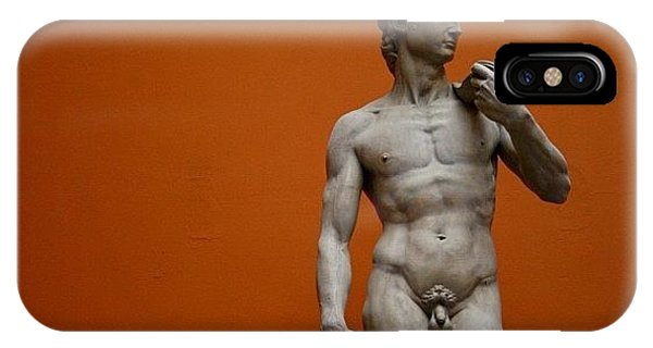 London iPhone Case - #london #david #michelangelo #sculpture by Ozan Goren