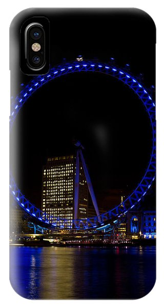 London Eye And River Thames View IPhone Case