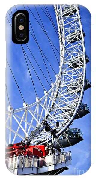 London Eye iPhone Case - London Eye by Elena Elisseeva