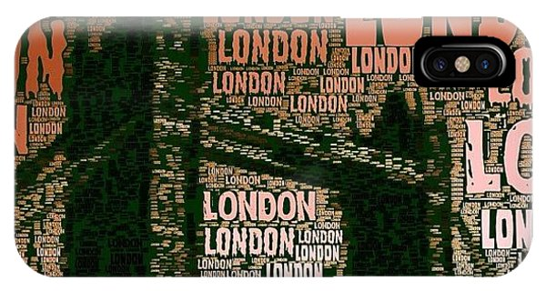 London iPhone Case - #london Just London by Ozan Goren